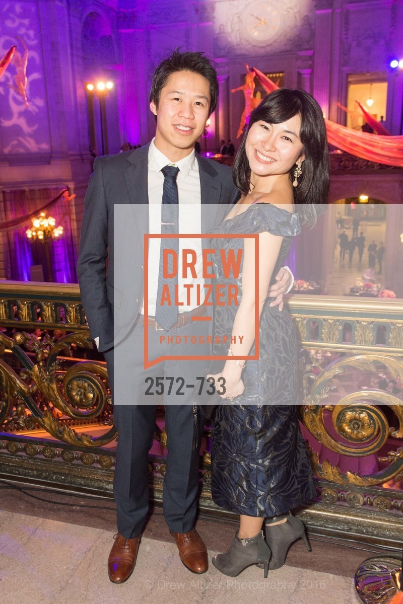 Michael Yee, Grace Dong, San Francisco Ballet 2016 Opening Night Gala, San Francisco City Hall. 1 Dr Carlton B Goodlett Pl, January 21st, 2016,Drew Altizer, Drew Altizer Photography, full-service agency, private events, San Francisco photographer, photographer california