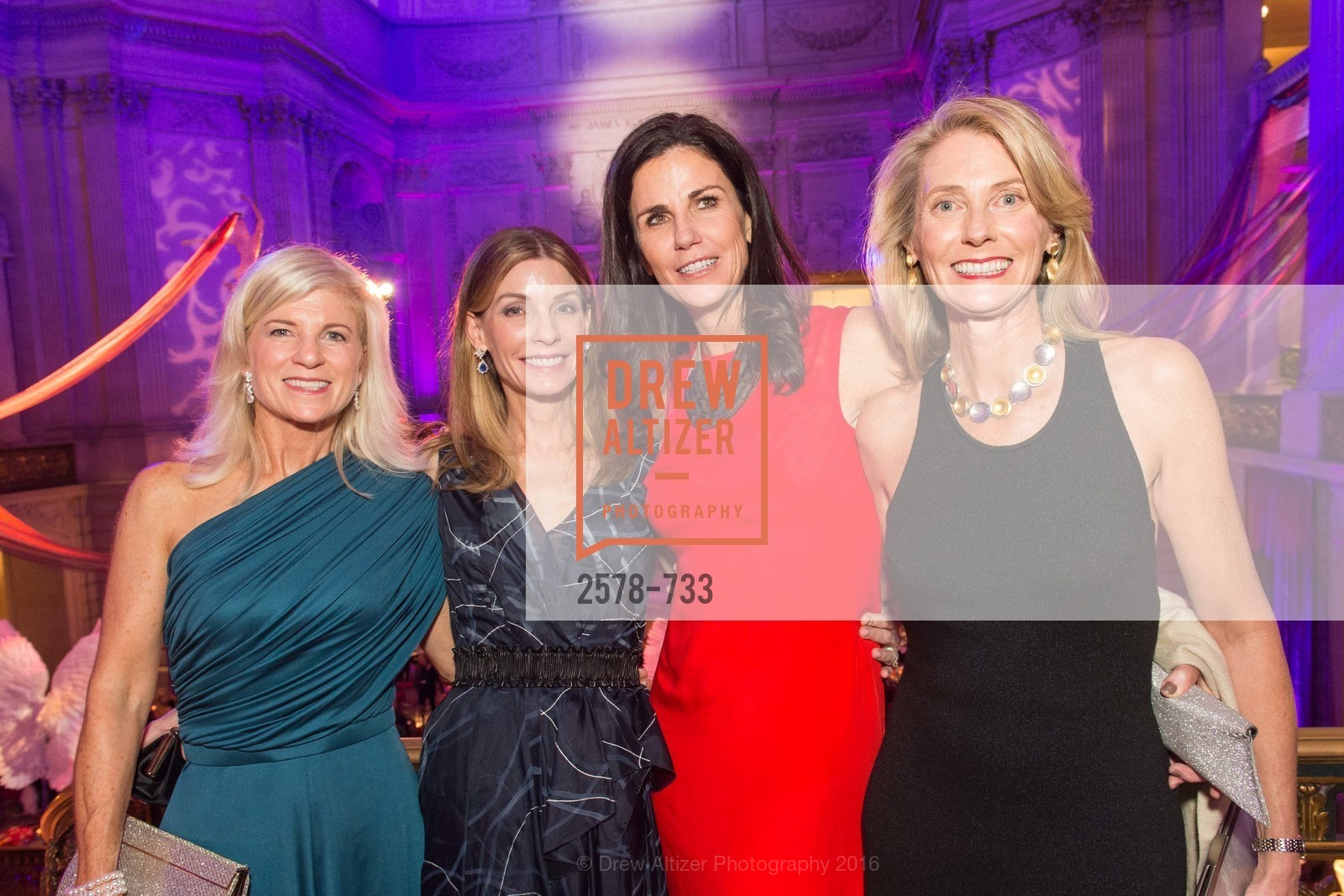 Lynn Carragher, Lisa Zanze, Laura Carney, San Francisco Ballet 2016 Opening Night Gala, San Francisco City Hall. 1 Dr Carlton B Goodlett Pl, January 21st, 2016,Drew Altizer, Drew Altizer Photography, full-service agency, private events, San Francisco photographer, photographer california