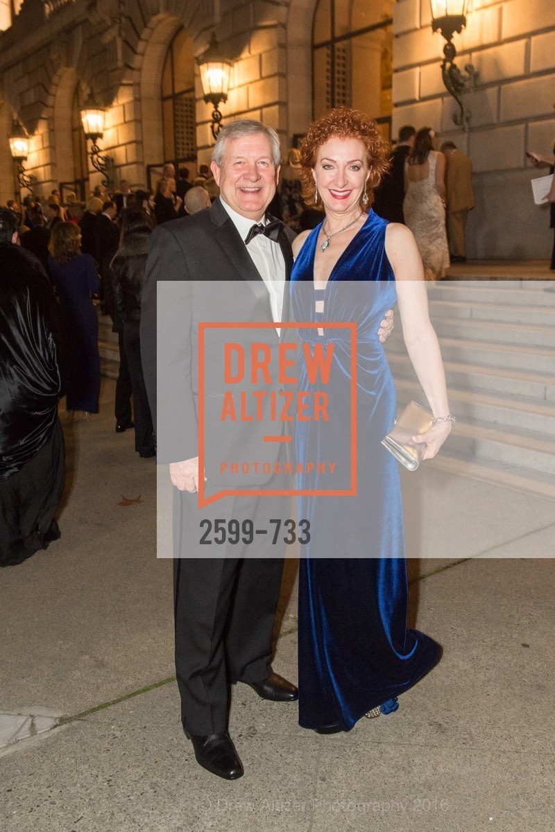 Fred Roberts, Patricia Roberts, San Francisco Ballet 2016 Opening Night Gala, San Francisco City Hall. 1 Dr Carlton B Goodlett Pl, January 21st, 2016,Drew Altizer, Drew Altizer Photography, full-service agency, private events, San Francisco photographer, photographer california