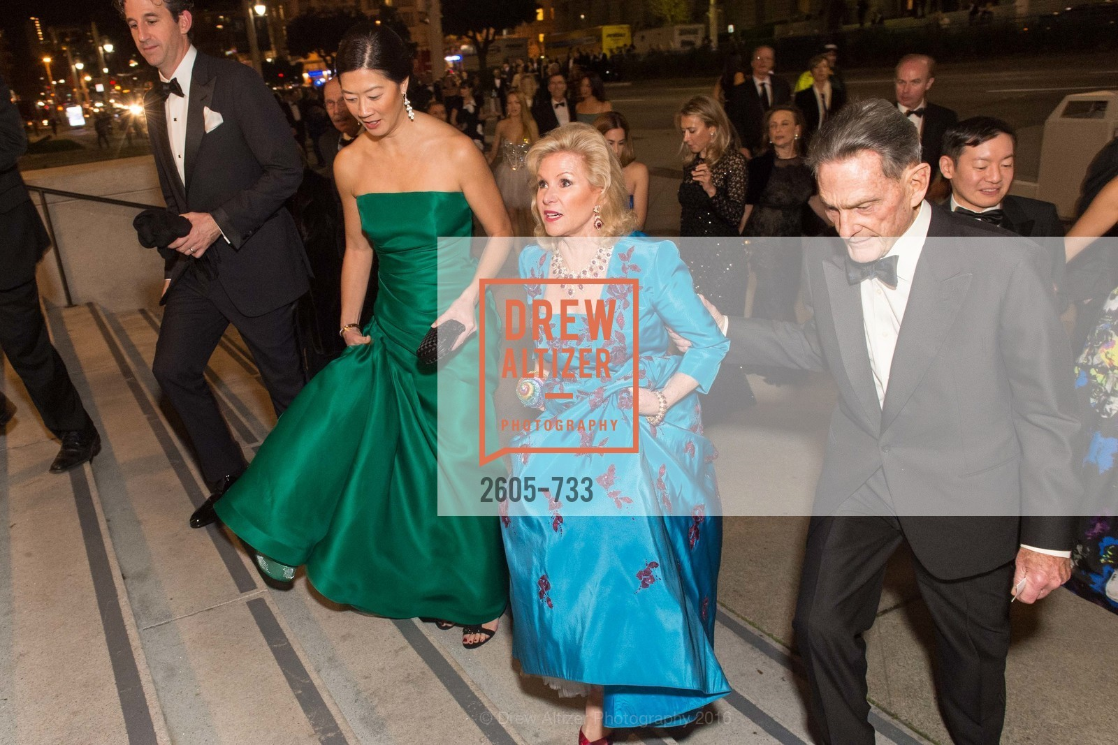 Christine Leong Connors, Dede Wilsey, Scott Connors, San Francisco Ballet 2016 Opening Night Gala, San Francisco City Hall. 1 Dr Carlton B Goodlett Pl, January 21st, 2016,Drew Altizer, Drew Altizer Photography, full-service agency, private events, San Francisco photographer, photographer california