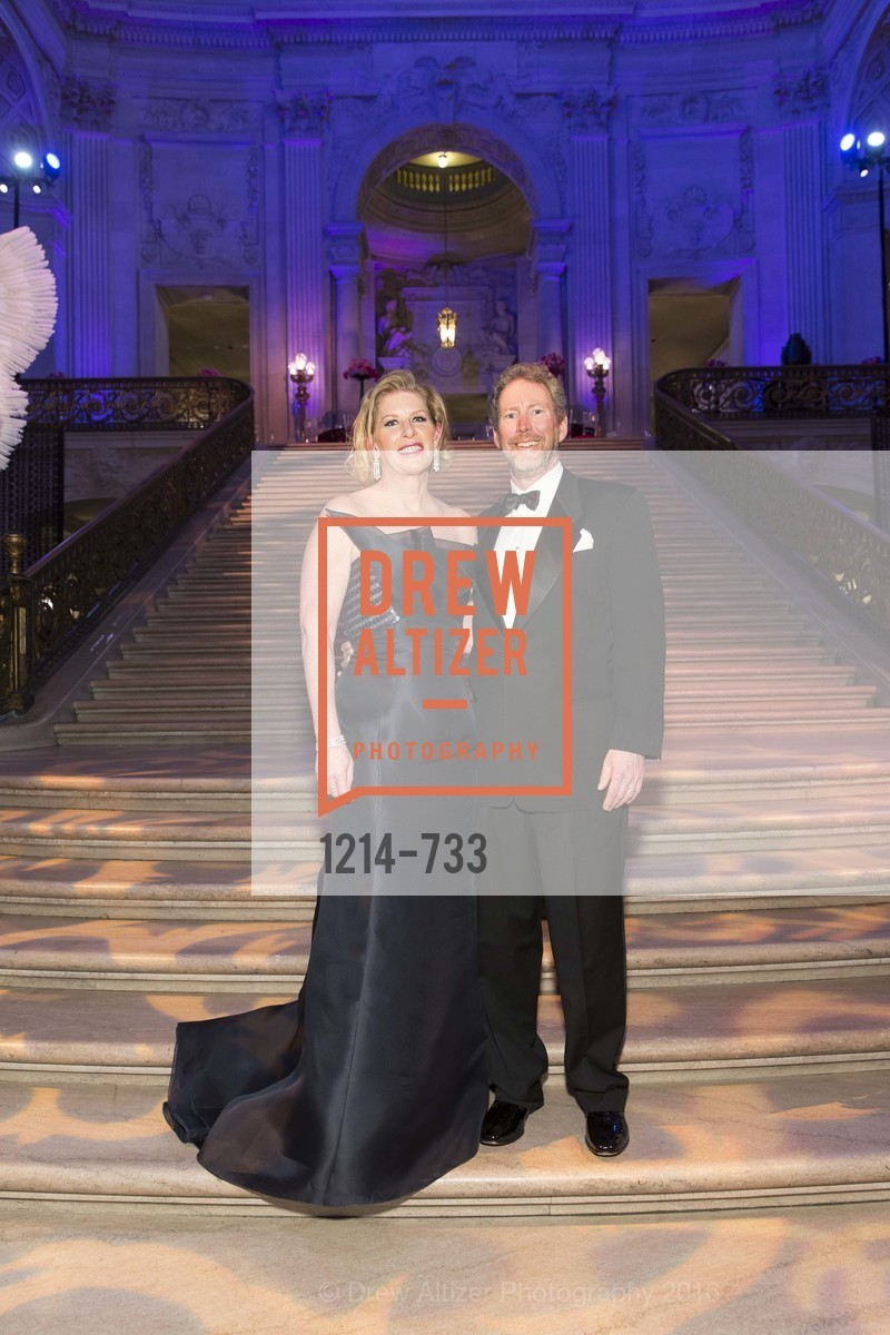 Jennifer Brandenburg, Bill Brandenburg, San Francisco Ballet 2016 Opening Night Gala, San Francisco City Hall. 1 Dr Carlton B Goodlett Pl, January 21st, 2016,Drew Altizer, Drew Altizer Photography, full-service agency, private events, San Francisco photographer, photographer california