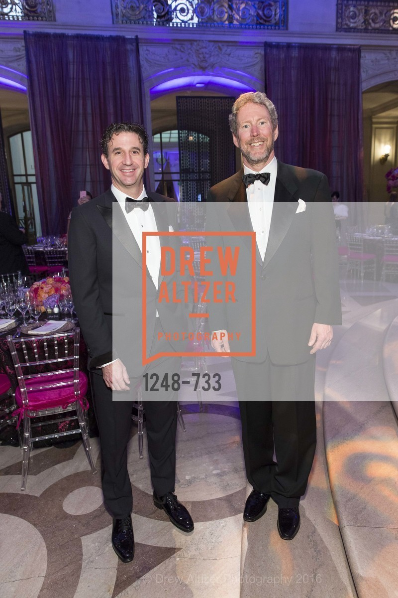 Scott Connors, Bill Brandenburg, San Francisco Ballet 2016 Opening Night Gala, San Francisco City Hall. 1 Dr Carlton B Goodlett Pl, January 21st, 2016,Drew Altizer, Drew Altizer Photography, full-service agency, private events, San Francisco photographer, photographer california