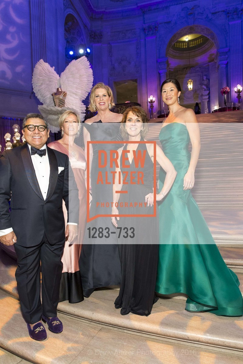 Riccardo Benavides, Rhonda Mahendroo, Jennifer Brandenburg, Lee Gregory, Christine Leong Connors, San Francisco Ballet 2016 Opening Night Gala, San Francisco City Hall. 1 Dr Carlton B Goodlett Pl, January 21st, 2016,Drew Altizer, Drew Altizer Photography, full-service agency, private events, San Francisco photographer, photographer california
