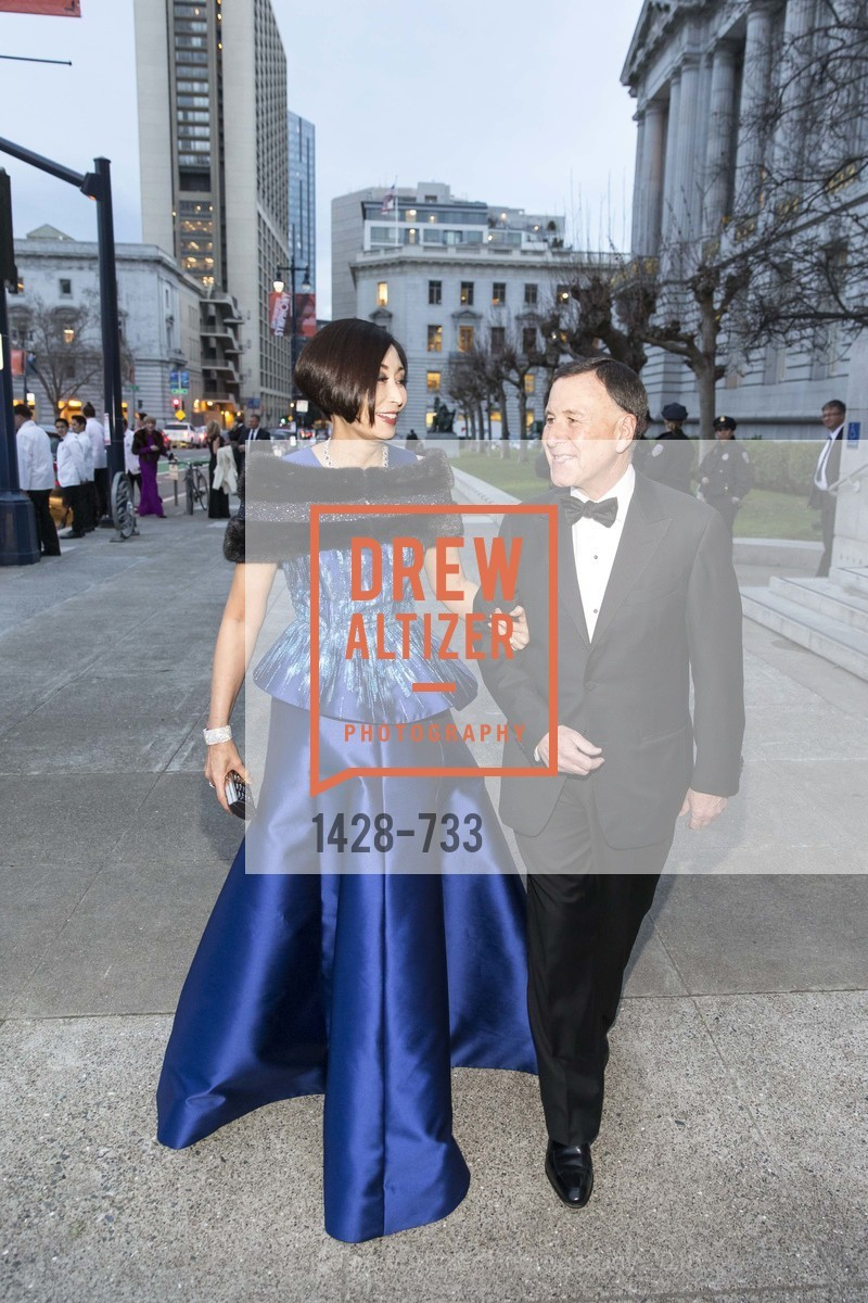 Yurie Pascarella, Carl Pascarella, San Francisco Ballet 2016 Opening Night Gala, San Francisco City Hall. 1 Dr Carlton B Goodlett Pl, January 21st, 2016,Drew Altizer, Drew Altizer Photography, full-service agency, private events, San Francisco photographer, photographer california