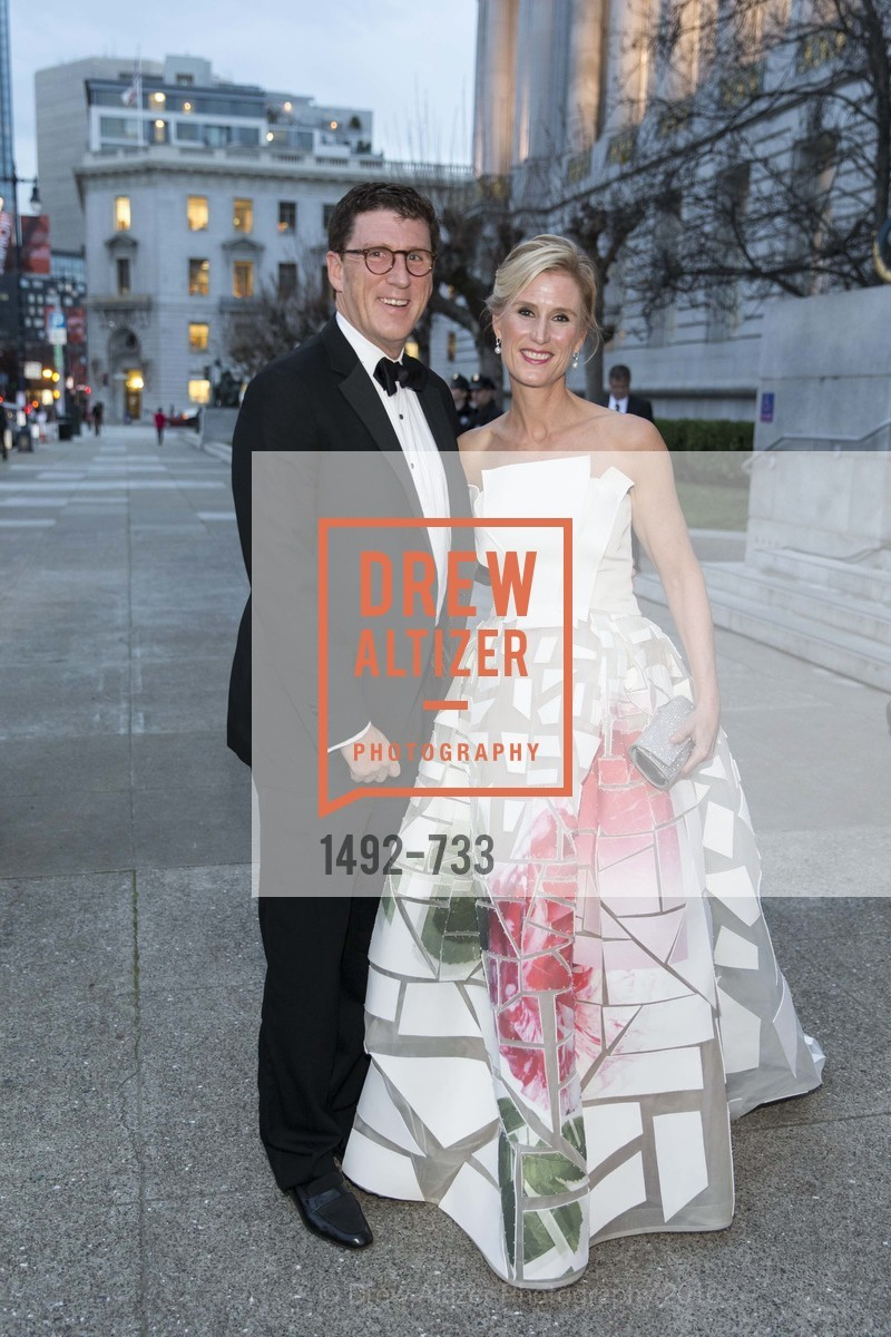 Michael Mauze, Alison Mauze, San Francisco Ballet 2016 Opening Night Gala, San Francisco City Hall. 1 Dr Carlton B Goodlett Pl, January 21st, 2016,Drew Altizer, Drew Altizer Photography, full-service agency, private events, San Francisco photographer, photographer california