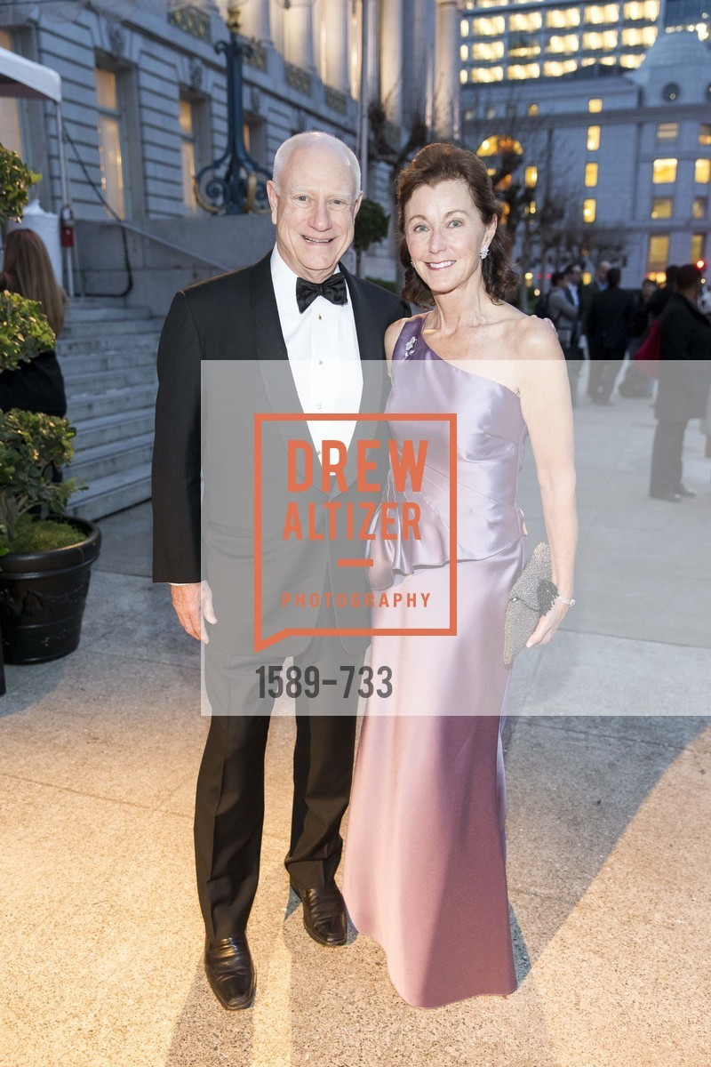 Jim Herbert, Cecilia Herbert, San Francisco Ballet 2016 Opening Night Gala, San Francisco City Hall. 1 Dr Carlton B Goodlett Pl, January 21st, 2016,Drew Altizer, Drew Altizer Photography, full-service agency, private events, San Francisco photographer, photographer california