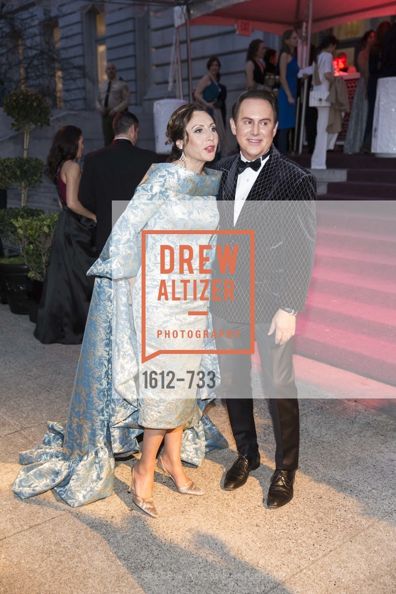 Clara Shayevich, Joel Goodrich, San Francisco Ballet 2016 Opening Night Gala, San Francisco City Hall. 1 Dr Carlton B Goodlett Pl, January 21st, 2016,Drew Altizer, Drew Altizer Photography, full-service agency, private events, San Francisco photographer, photographer california
