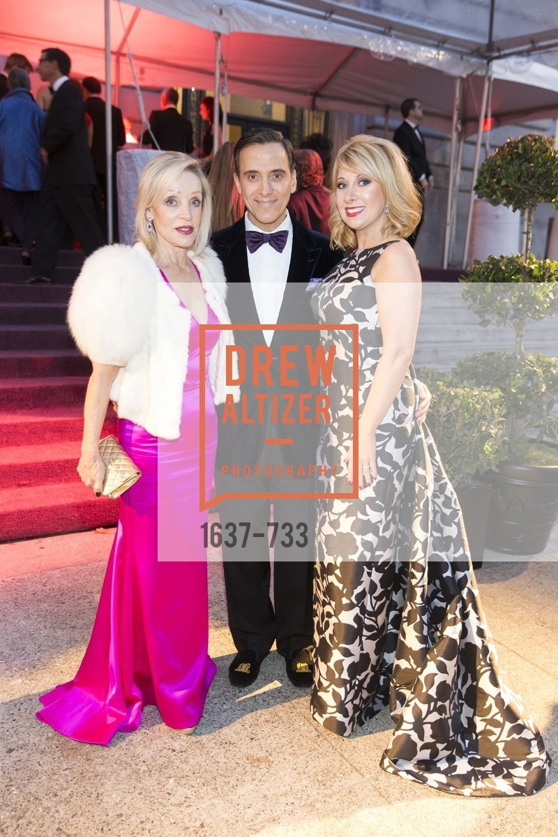 Barbara Brown, Alan Malouf, Jennifer Mancuso, San Francisco Ballet 2016 Opening Night Gala, San Francisco City Hall. 1 Dr Carlton B Goodlett Pl, January 21st, 2016,Drew Altizer, Drew Altizer Photography, full-service agency, private events, San Francisco photographer, photographer california