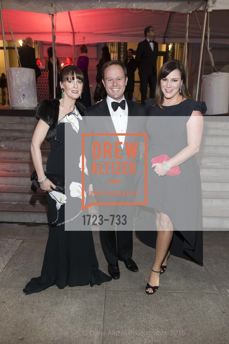 Allison Speer, Kirk Seward, Audrey Cooper, San Francisco Ballet 2016 Opening Night Gala, San Francisco City Hall. 1 Dr Carlton B Goodlett Pl, January 21st, 2016,Drew Altizer, Drew Altizer Photography, full-service event agency, private events, San Francisco photographer, photographer California