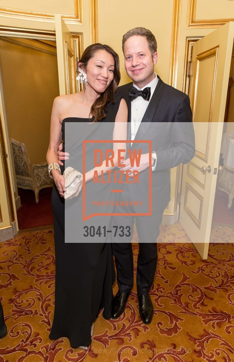 Rika Gill, Byron Gill, San Francisco Ballet 2016 Opening Night Gala, San Francisco City Hall. 1 Dr Carlton B Goodlett Pl, January 21st, 2016,Drew Altizer, Drew Altizer Photography, full-service agency, private events, San Francisco photographer, photographer california