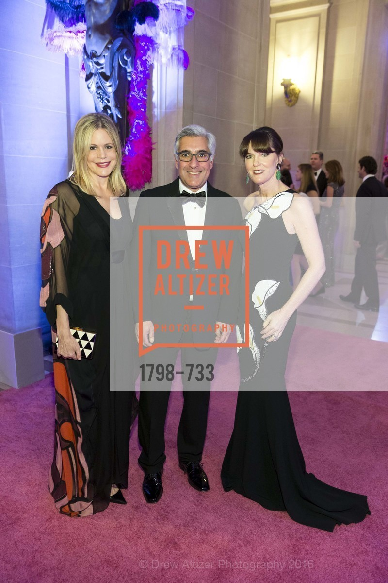 Mary Beth Shimmon, David Shimmon, Allison Speer, San Francisco Ballet 2016 Opening Night Gala, San Francisco City Hall. 1 Dr Carlton B Goodlett Pl, January 21st, 2016,Drew Altizer, Drew Altizer Photography, full-service agency, private events, San Francisco photographer, photographer california