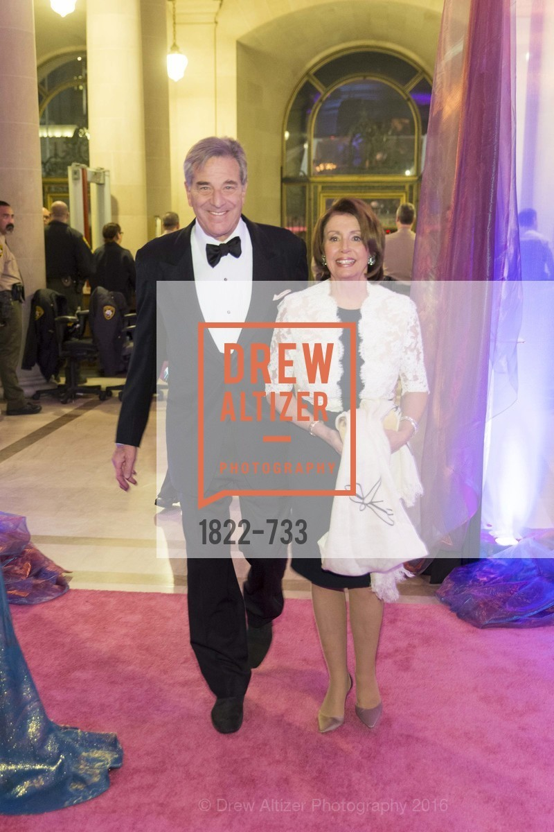 Paul Pelosi, Nancy Pelosi, San Francisco Ballet 2016 Opening Night Gala, San Francisco City Hall. 1 Dr Carlton B Goodlett Pl, January 21st, 2016,Drew Altizer, Drew Altizer Photography, full-service agency, private events, San Francisco photographer, photographer california