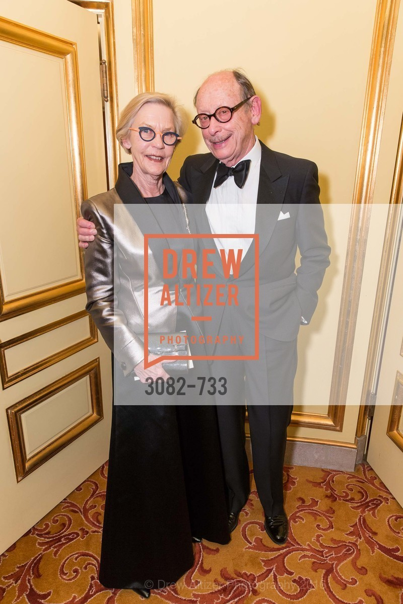 Barbro Osher, Bernard Osher, San Francisco Ballet 2016 Opening Night Gala, San Francisco City Hall. 1 Dr Carlton B Goodlett Pl, January 21st, 2016,Drew Altizer, Drew Altizer Photography, full-service agency, private events, San Francisco photographer, photographer california