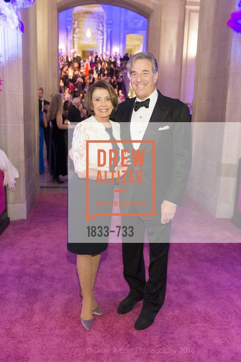 Nancy Pelosi, Paul Pelosi, San Francisco Ballet 2016 Opening Night Gala, San Francisco City Hall. 1 Dr Carlton B Goodlett Pl, January 21st, 2016,Drew Altizer, Drew Altizer Photography, full-service agency, private events, San Francisco photographer, photographer california