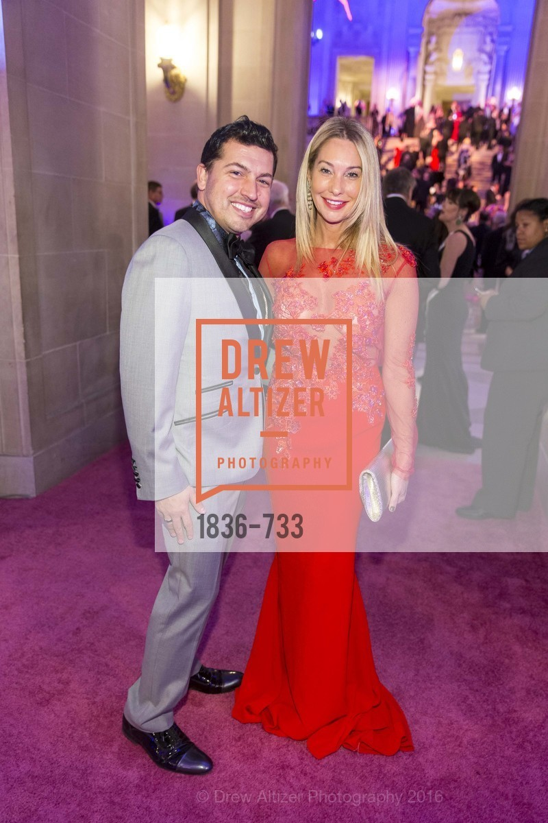 Jake Wall, Tiffany Cummins, San Francisco Ballet 2016 Opening Night Gala, San Francisco City Hall. 1 Dr Carlton B Goodlett Pl, January 21st, 2016,Drew Altizer, Drew Altizer Photography, full-service agency, private events, San Francisco photographer, photographer california