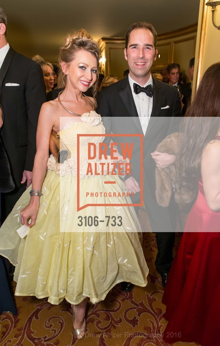 Svetlana Jilenko, Paul Wagner, San Francisco Ballet 2016 Opening Night Gala, San Francisco City Hall. 1 Dr Carlton B Goodlett Pl, January 21st, 2016,Drew Altizer, Drew Altizer Photography, full-service agency, private events, San Francisco photographer, photographer california