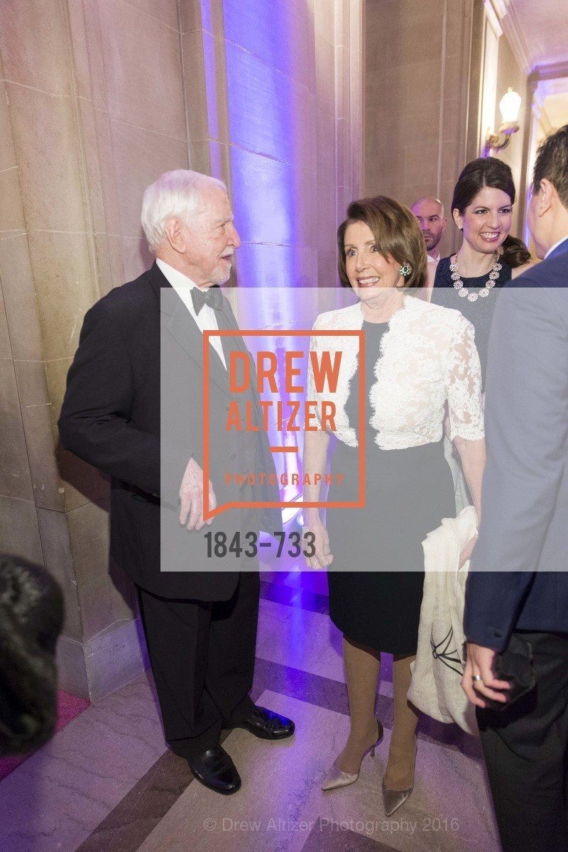 Jim Hormel, Nancy Pelosi, San Francisco Ballet 2016 Opening Night Gala, San Francisco City Hall. 1 Dr Carlton B Goodlett Pl, January 21st, 2016,Drew Altizer, Drew Altizer Photography, full-service agency, private events, San Francisco photographer, photographer california