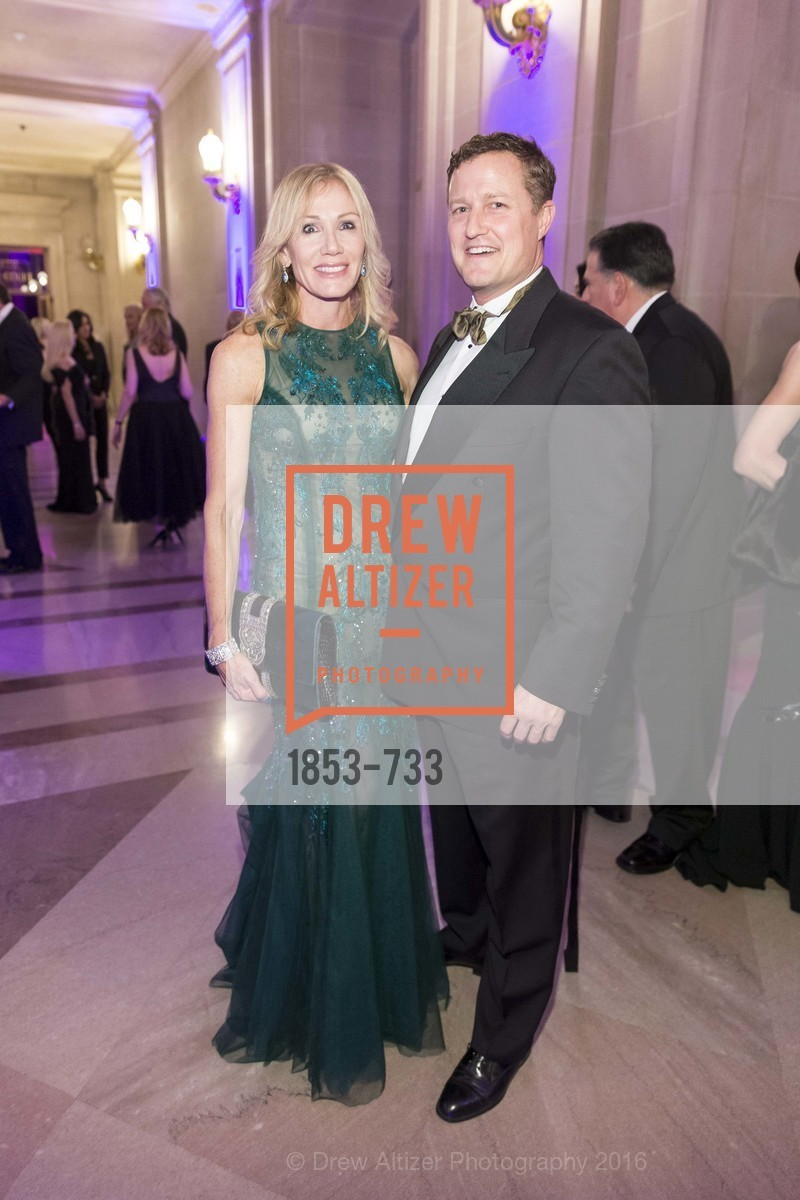 Rosemary Baker, Peter Ashley, San Francisco Ballet 2016 Opening Night Gala, San Francisco City Hall. 1 Dr Carlton B Goodlett Pl, January 21st, 2016,Drew Altizer, Drew Altizer Photography, full-service agency, private events, San Francisco photographer, photographer california