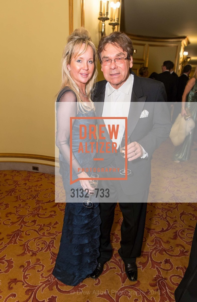 Gabby Konce, Allan Konce, San Francisco Ballet 2016 Opening Night Gala, San Francisco City Hall. 1 Dr Carlton B Goodlett Pl, January 21st, 2016,Drew Altizer, Drew Altizer Photography, full-service agency, private events, San Francisco photographer, photographer california