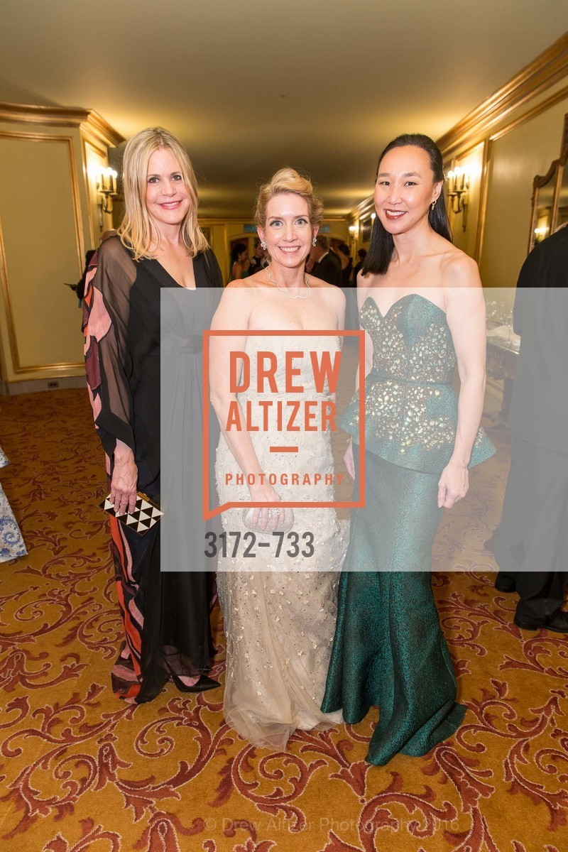 Mary Beth Shimmon, Jennifer Walske, Carolyn Chang, San Francisco Ballet 2016 Opening Night Gala, San Francisco City Hall. 1 Dr Carlton B Goodlett Pl, January 21st, 2016,Drew Altizer, Drew Altizer Photography, full-service agency, private events, San Francisco photographer, photographer california