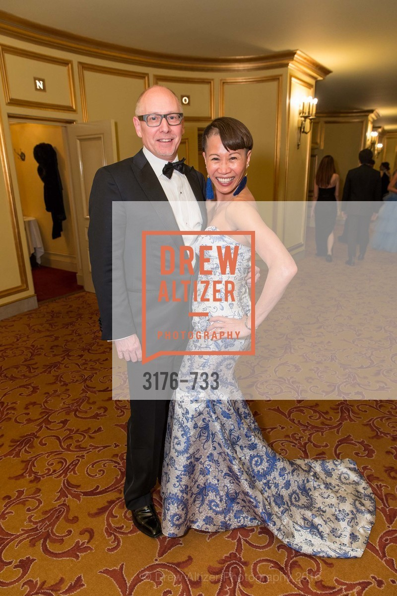 James Barnett, Mei Barnett, San Francisco Ballet 2016 Opening Night Gala, San Francisco City Hall. 1 Dr Carlton B Goodlett Pl, January 21st, 2016,Drew Altizer, Drew Altizer Photography, full-service agency, private events, San Francisco photographer, photographer california
