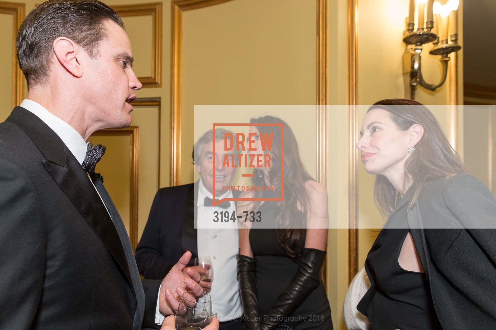 Robert Mailer Anderson, Nicole Curran, Shannon Bavarro, San Francisco Ballet 2016 Opening Night Gala, San Francisco City Hall. 1 Dr Carlton B Goodlett Pl, January 21st, 2016,Drew Altizer, Drew Altizer Photography, full-service agency, private events, San Francisco photographer, photographer california