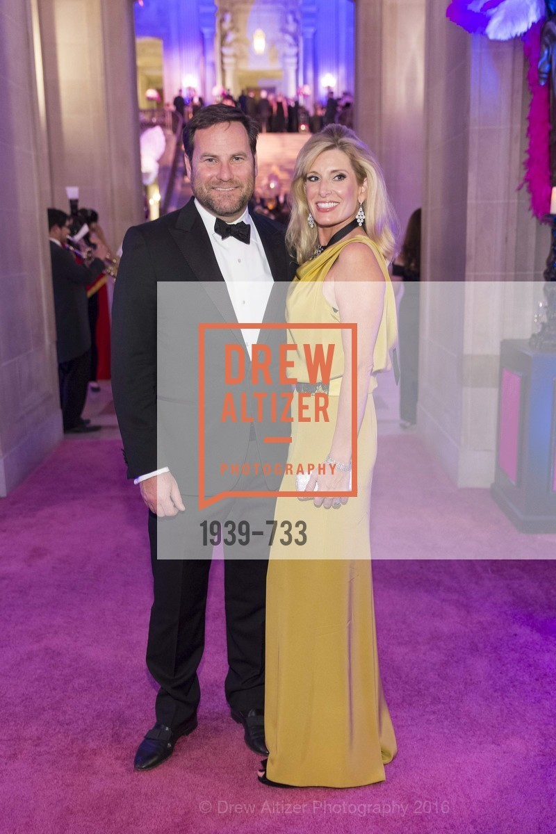 Alex Witherill, Kimberly Bakker, San Francisco Ballet 2016 Opening Night Gala, San Francisco City Hall. 1 Dr Carlton B Goodlett Pl, January 21st, 2016