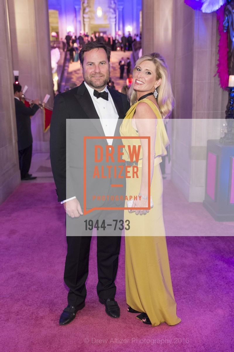 Alex Witherill, Kimberly Bakker, San Francisco Ballet 2016 Opening Night Gala, San Francisco City Hall. 1 Dr Carlton B Goodlett Pl, January 21st, 2016,Drew Altizer, Drew Altizer Photography, full-service agency, private events, San Francisco photographer, photographer california