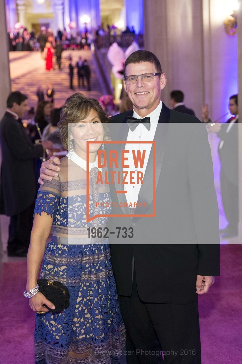 Virginia Price, Walter Price, San Francisco Ballet 2016 Opening Night Gala, San Francisco City Hall. 1 Dr Carlton B Goodlett Pl, January 21st, 2016,Drew Altizer, Drew Altizer Photography, full-service agency, private events, San Francisco photographer, photographer california