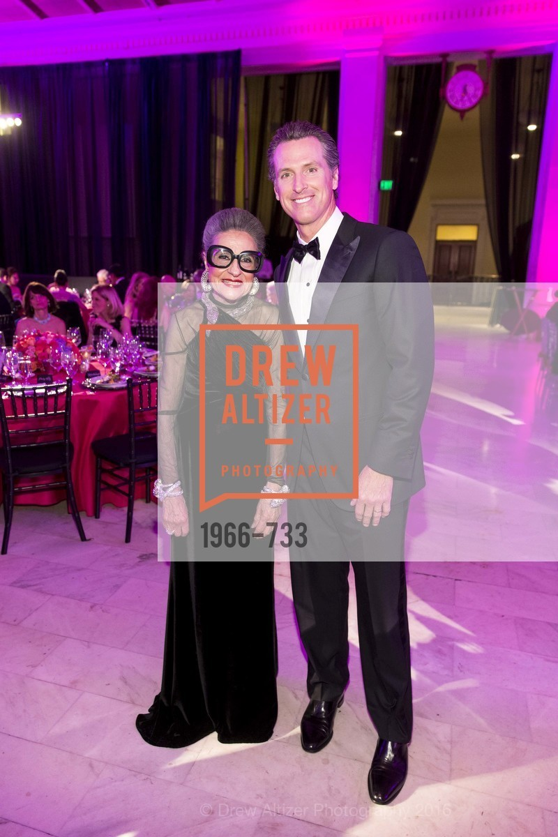 Joy Venturini Bianchi, Gavin Newsom, San Francisco Ballet 2016 Opening Night Gala, San Francisco City Hall. 1 Dr Carlton B Goodlett Pl, January 21st, 2016,Drew Altizer, Drew Altizer Photography, full-service agency, private events, San Francisco photographer, photographer california