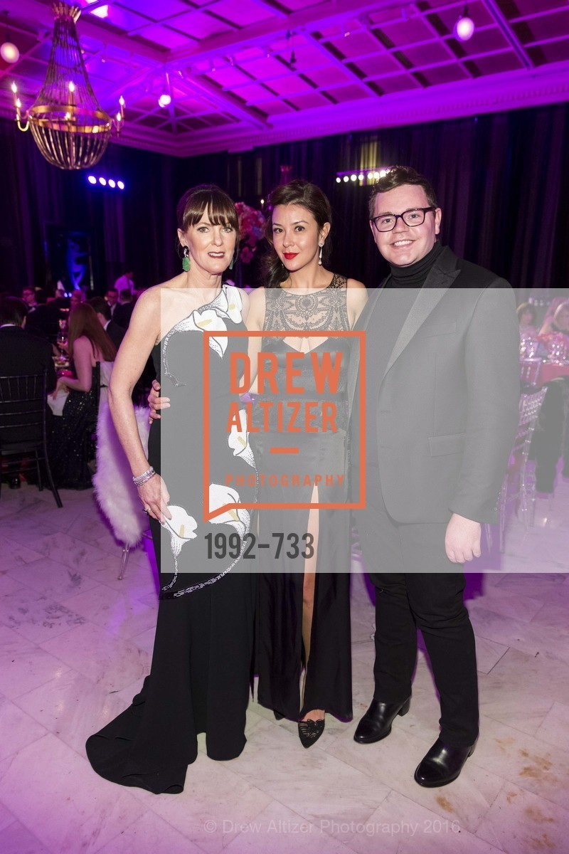 Allison Speer, Phoebe Mireles, Robert Brotherton, San Francisco Ballet 2016 Opening Night Gala, San Francisco City Hall. 1 Dr Carlton B Goodlett Pl, January 21st, 2016,Drew Altizer, Drew Altizer Photography, full-service agency, private events, San Francisco photographer, photographer california