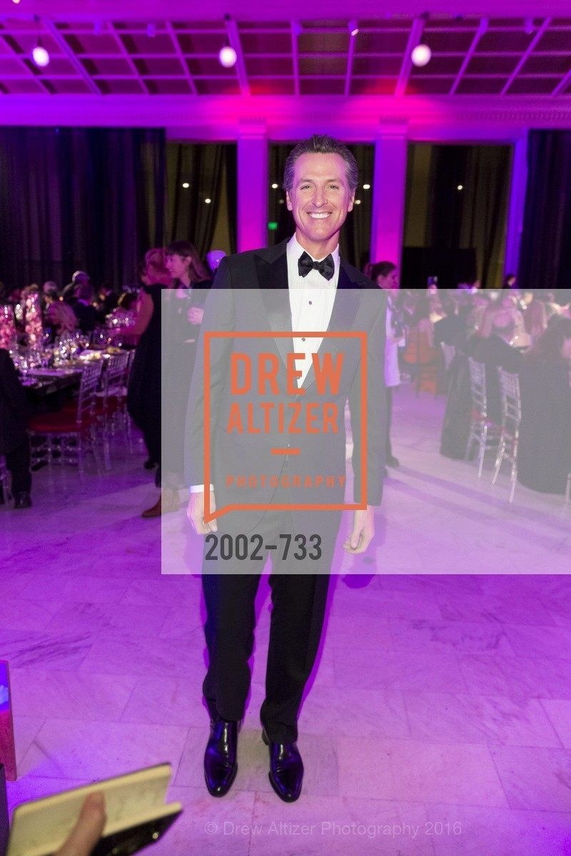 Gavin Newsom, San Francisco Ballet 2016 Opening Night Gala, San Francisco City Hall. 1 Dr Carlton B Goodlett Pl, January 21st, 2016,Drew Altizer, Drew Altizer Photography, full-service agency, private events, San Francisco photographer, photographer california