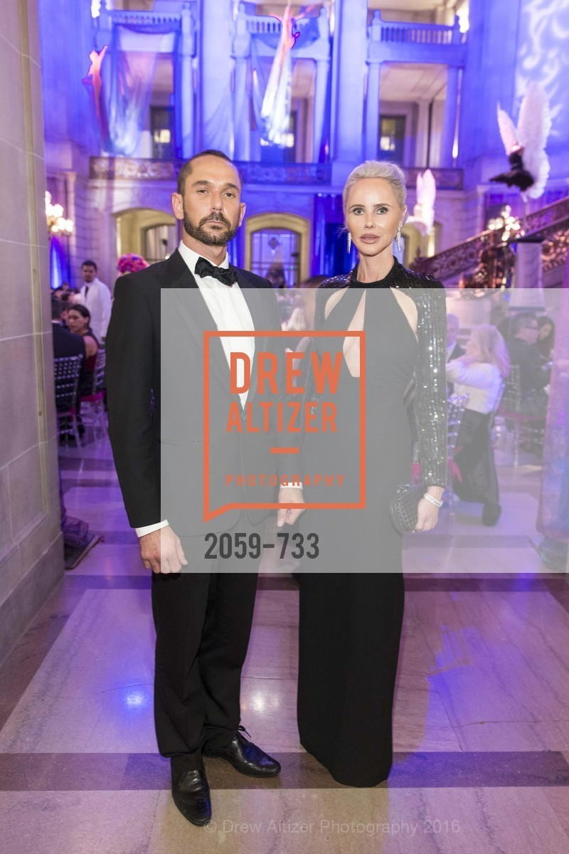 Damian Smith, Vanessa Getty, San Francisco Ballet 2016 Opening Night Gala, San Francisco City Hall. 1 Dr Carlton B Goodlett Pl, January 21st, 2016,Drew Altizer, Drew Altizer Photography, full-service event agency, private events, San Francisco photographer, photographer California