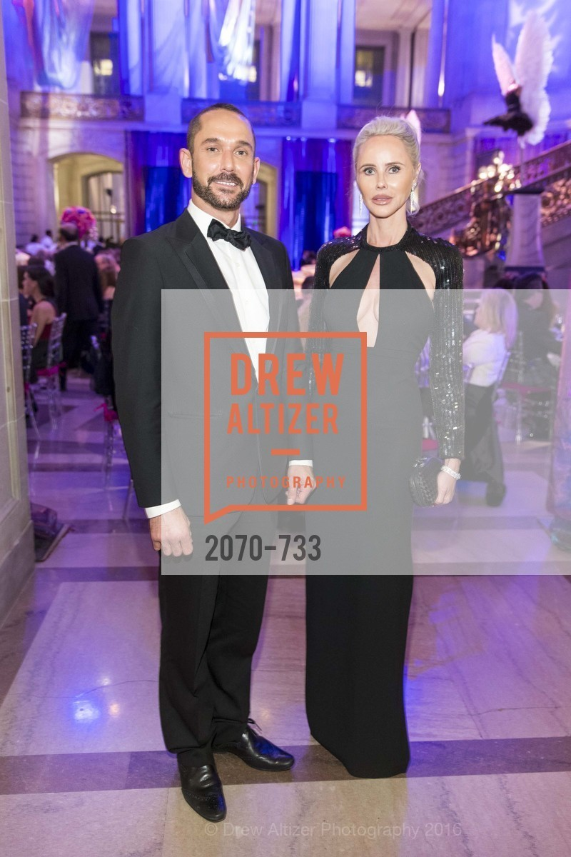 Damian Smith, Vanessa Getty, San Francisco Ballet 2016 Opening Night Gala, San Francisco City Hall. 1 Dr Carlton B Goodlett Pl, January 21st, 2016,Drew Altizer, Drew Altizer Photography, full-service agency, private events, San Francisco photographer, photographer california