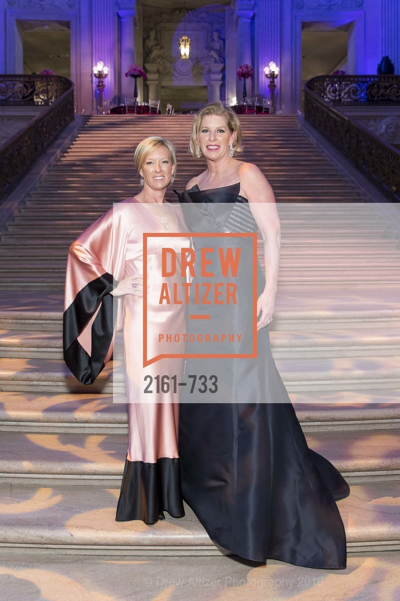 Rhonda Mahendroo, Jennifer Brandenburg, San Francisco Ballet 2016 Opening Night Gala, San Francisco City Hall. 1 Dr Carlton B Goodlett Pl, January 21st, 2016,Drew Altizer, Drew Altizer Photography, full-service agency, private events, San Francisco photographer, photographer california