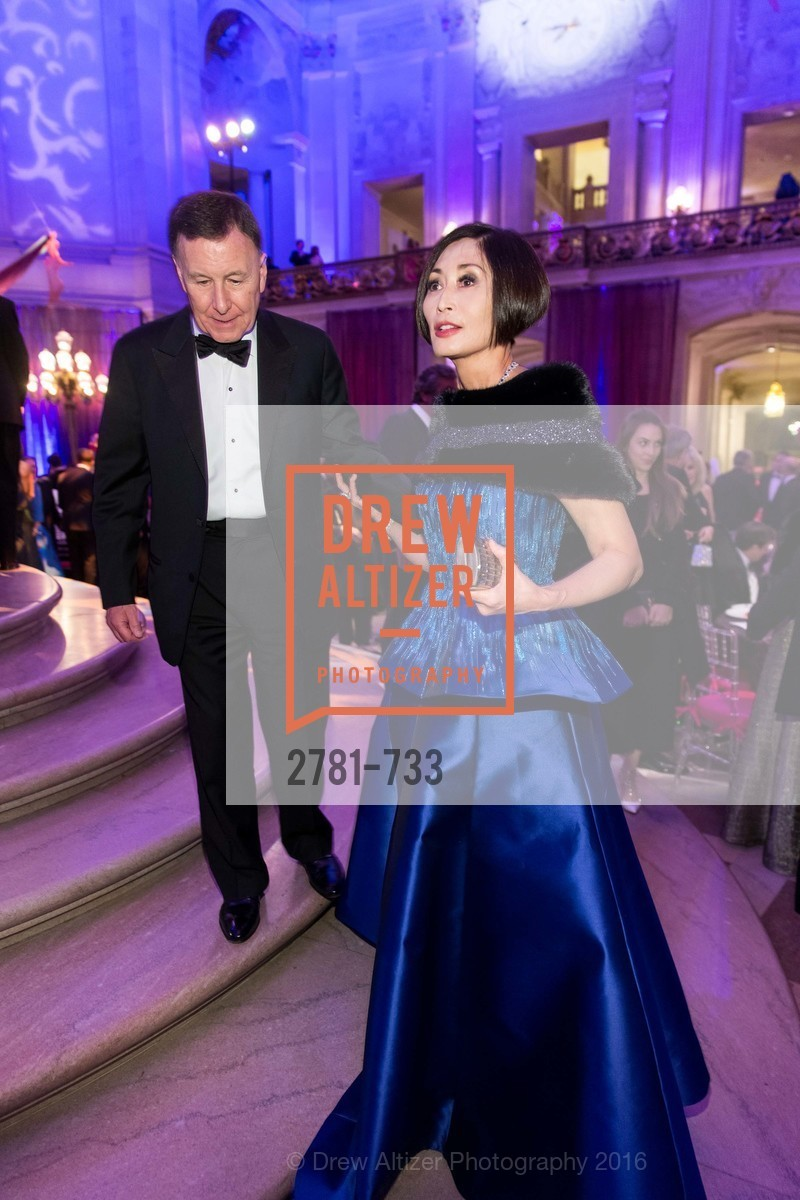 Carl Pascarella, Yurie Pascarella, San Francisco Ballet 2016 Opening Night Gala, San Francisco City Hall. 1 Dr Carlton B Goodlett Pl, January 21st, 2016,Drew Altizer, Drew Altizer Photography, full-service event agency, private events, San Francisco photographer, photographer California