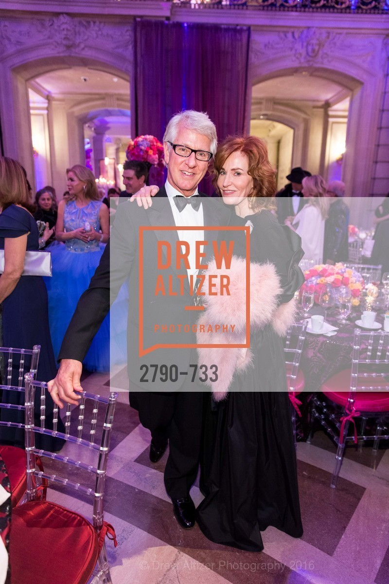 Jeff Hays, Brenda Jewett, San Francisco Ballet 2016 Opening Night Gala, San Francisco City Hall. 1 Dr Carlton B Goodlett Pl, January 21st, 2016