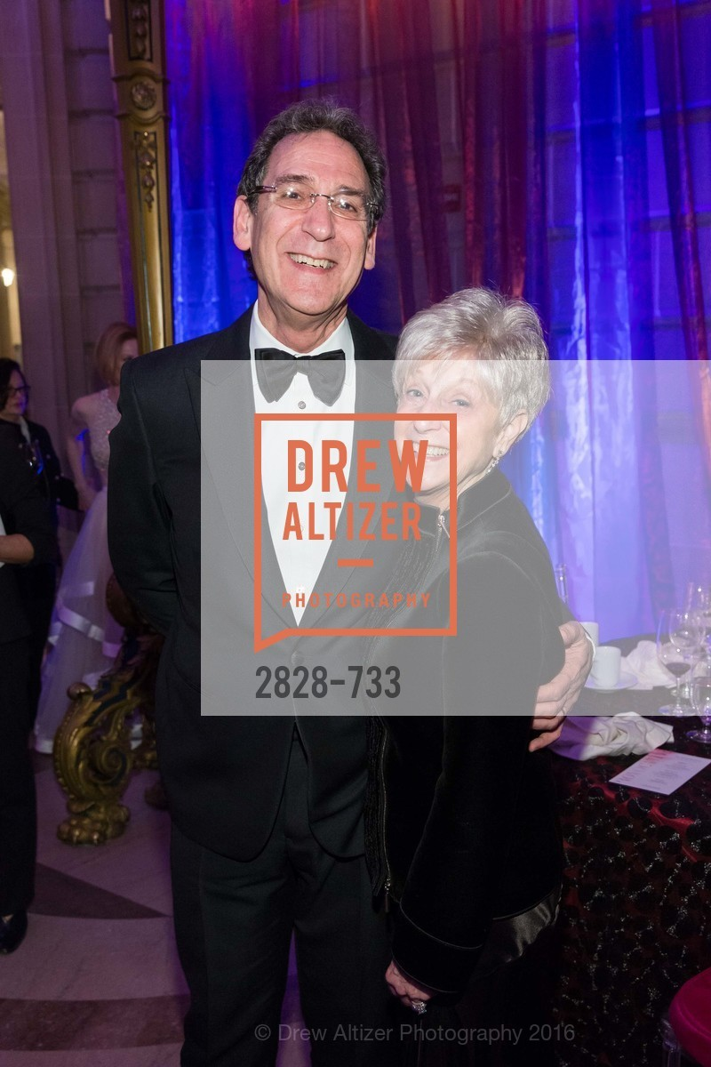 Fred Levin, Nancy Livingston, San Francisco Ballet 2016 Opening Night Gala, San Francisco City Hall. 1 Dr Carlton B Goodlett Pl, January 21st, 2016,Drew Altizer, Drew Altizer Photography, full-service agency, private events, San Francisco photographer, photographer california