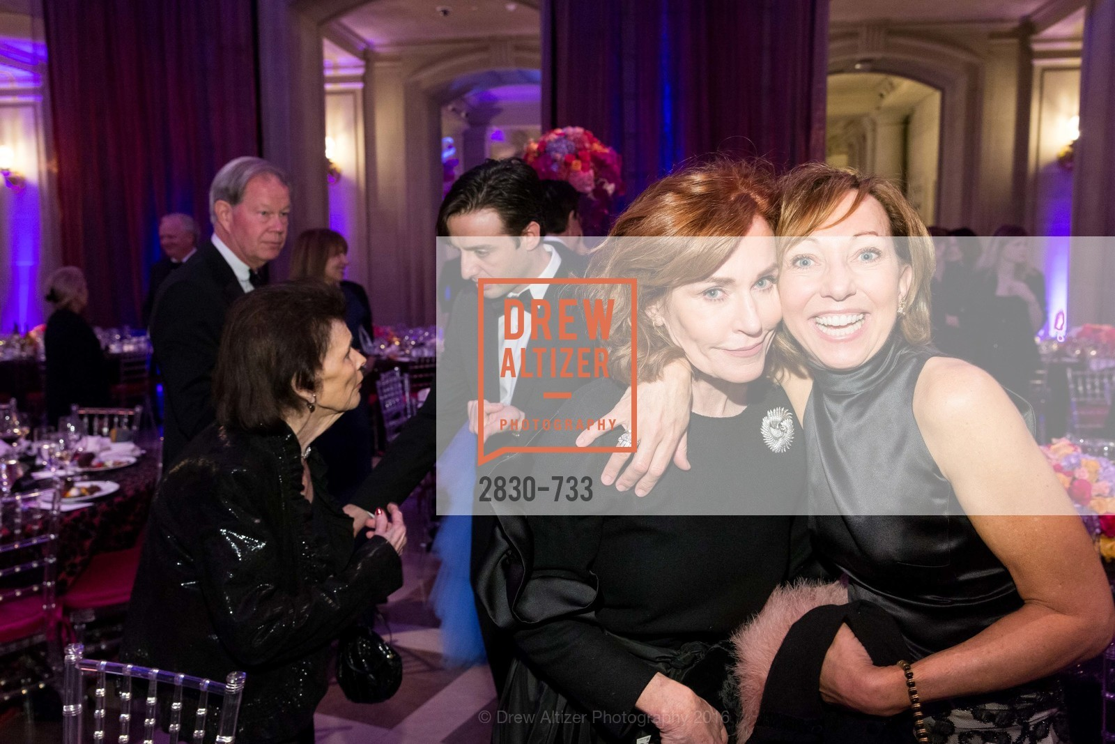 Brenda Jewett, Janice Barger, San Francisco Ballet 2016 Opening Night Gala, San Francisco City Hall. 1 Dr Carlton B Goodlett Pl, January 21st, 2016,Drew Altizer, Drew Altizer Photography, full-service agency, private events, San Francisco photographer, photographer california