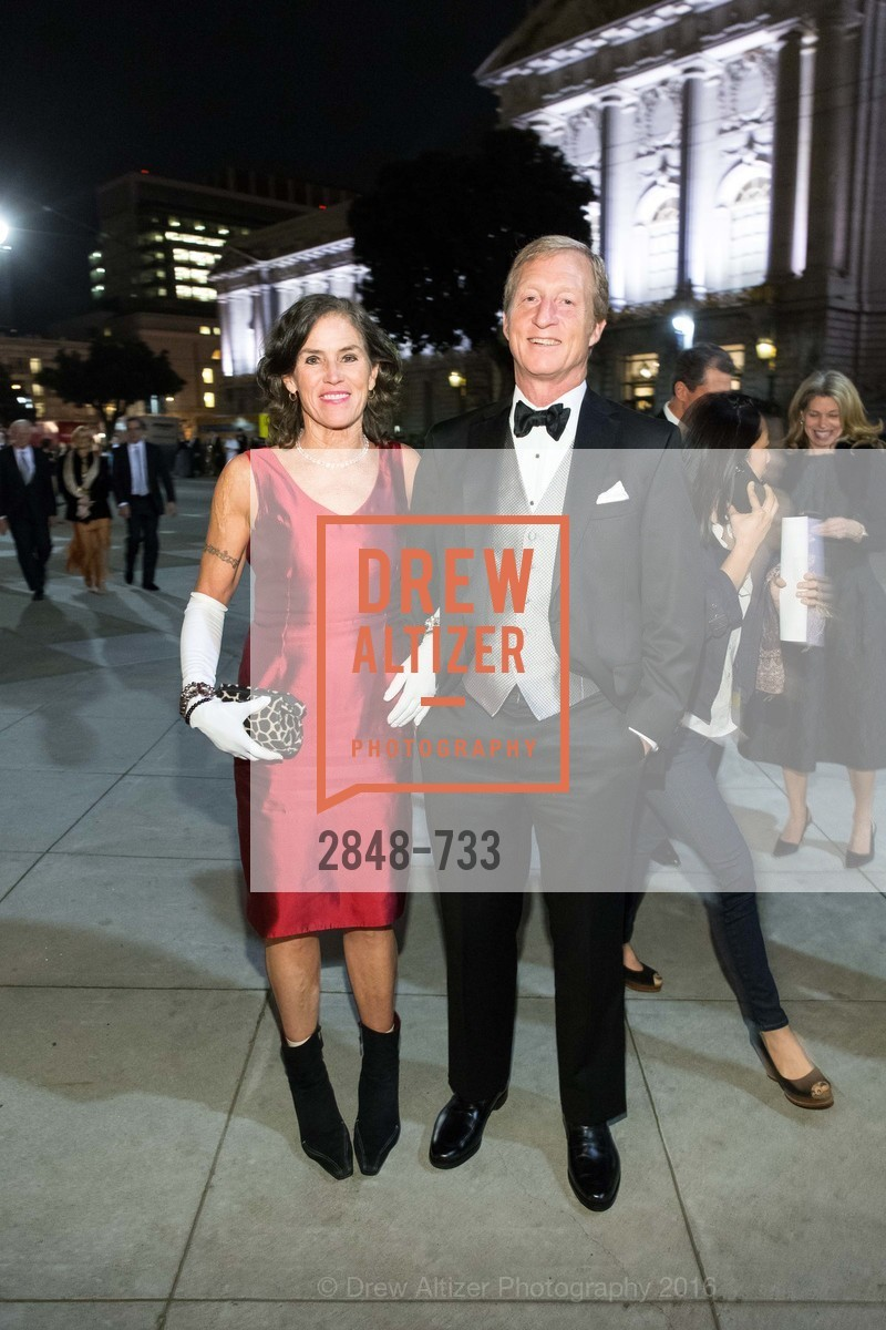 Kat Steyer, Tom Steyer, San Francisco Ballet 2016 Opening Night Gala, San Francisco City Hall. 1 Dr Carlton B Goodlett Pl, January 21st, 2016,Drew Altizer, Drew Altizer Photography, full-service agency, private events, San Francisco photographer, photographer california
