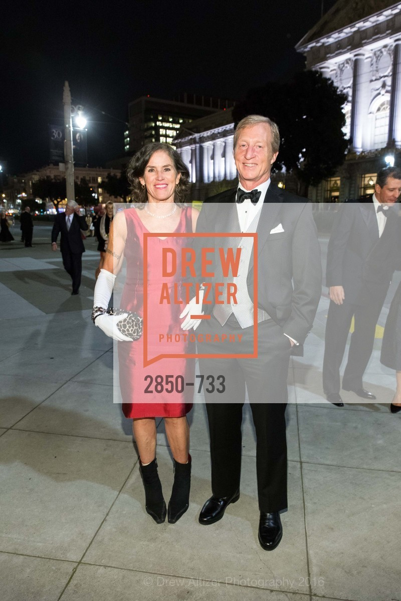 Kat Steyer, Tom Steyer, San Francisco Ballet 2016 Opening Night Gala, San Francisco City Hall. 1 Dr Carlton B Goodlett Pl, January 21st, 2016,Drew Altizer, Drew Altizer Photography, full-service event agency, private events, San Francisco photographer, photographer California