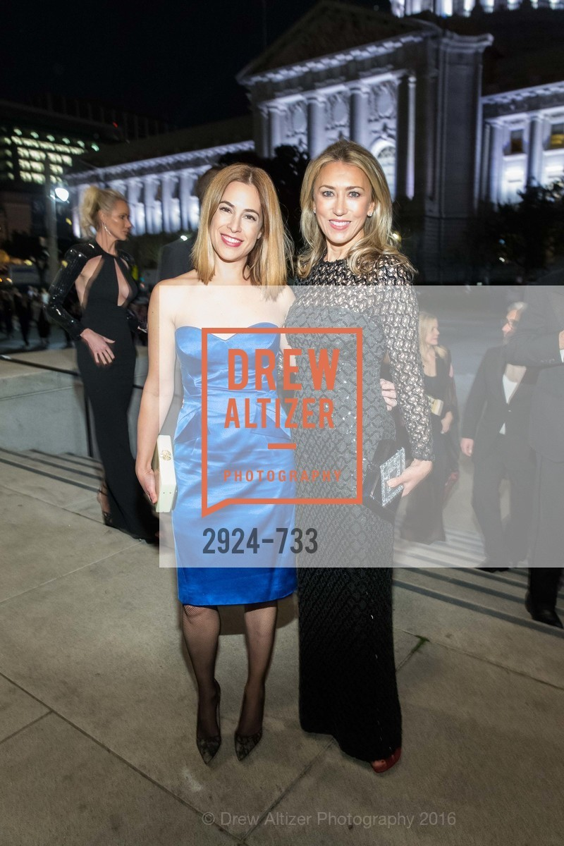 Alison Pincus, Juliet de Baubigny, San Francisco Ballet 2016 Opening Night Gala, San Francisco City Hall. 1 Dr Carlton B Goodlett Pl, January 21st, 2016,Drew Altizer, Drew Altizer Photography, full-service agency, private events, San Francisco photographer, photographer california