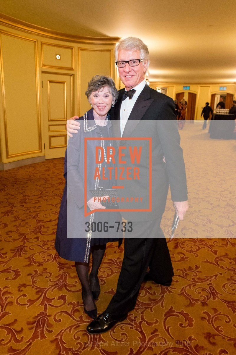 Carole Shorenstein Hays, Jeff Hays, San Francisco Ballet 2016 Opening Night Gala, San Francisco City Hall. 1 Dr Carlton B Goodlett Pl, January 21st, 2016,Drew Altizer, Drew Altizer Photography, full-service agency, private events, San Francisco photographer, photographer california