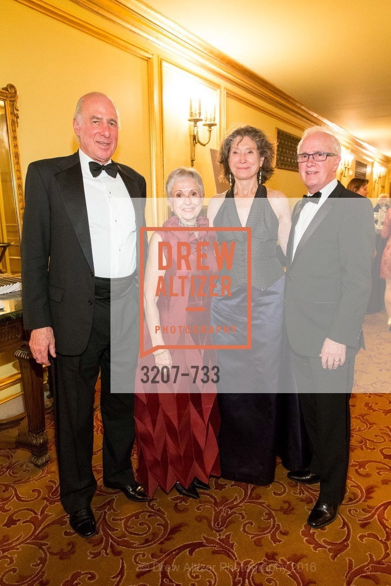 John Osterweis, Marlene Tomasson, Barbara Ravizza, Helgi Tomasson, San Francisco Ballet 2016 Opening Night Gala, San Francisco City Hall. 1 Dr Carlton B Goodlett Pl, January 21st, 2016,Drew Altizer, Drew Altizer Photography, full-service agency, private events, San Francisco photographer, photographer california