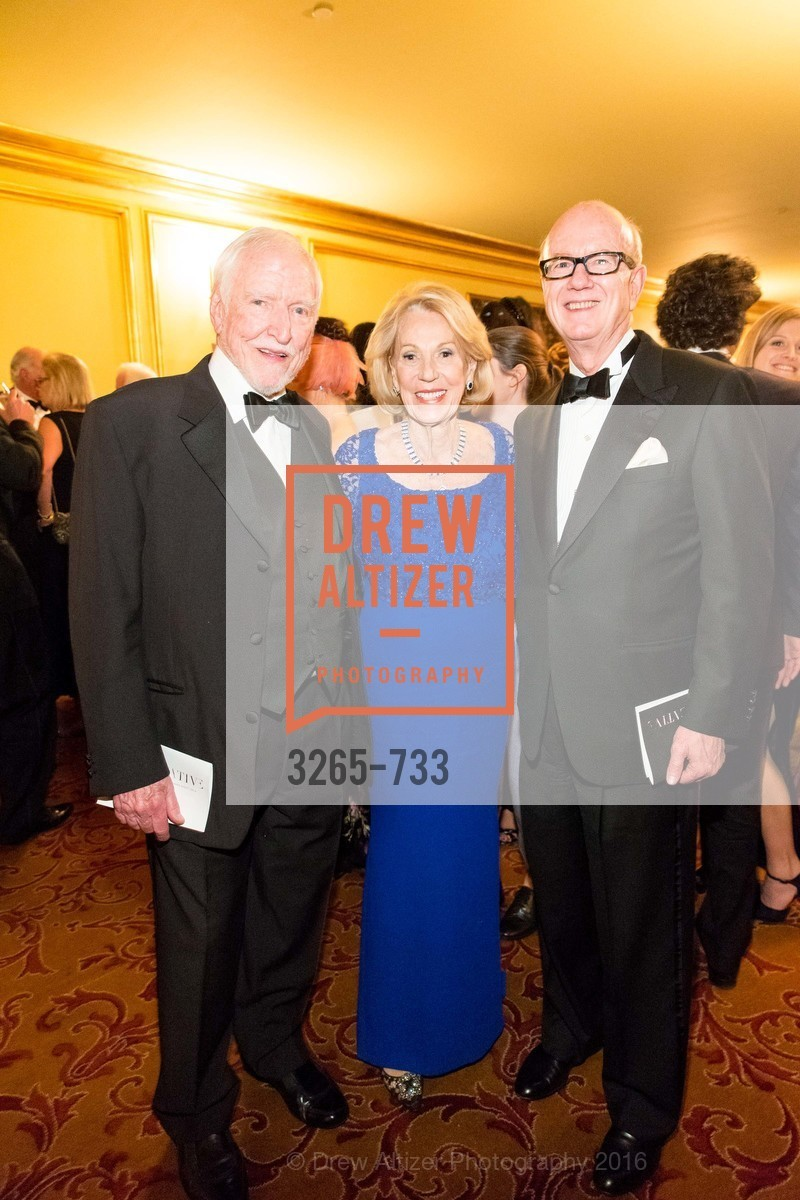 James Hormel, Charlotte Schultz, Tom Horn, San Francisco Ballet 2016 Opening Night Gala, San Francisco City Hall. 1 Dr Carlton B Goodlett Pl, January 21st, 2016,Drew Altizer, Drew Altizer Photography, full-service agency, private events, San Francisco photographer, photographer california