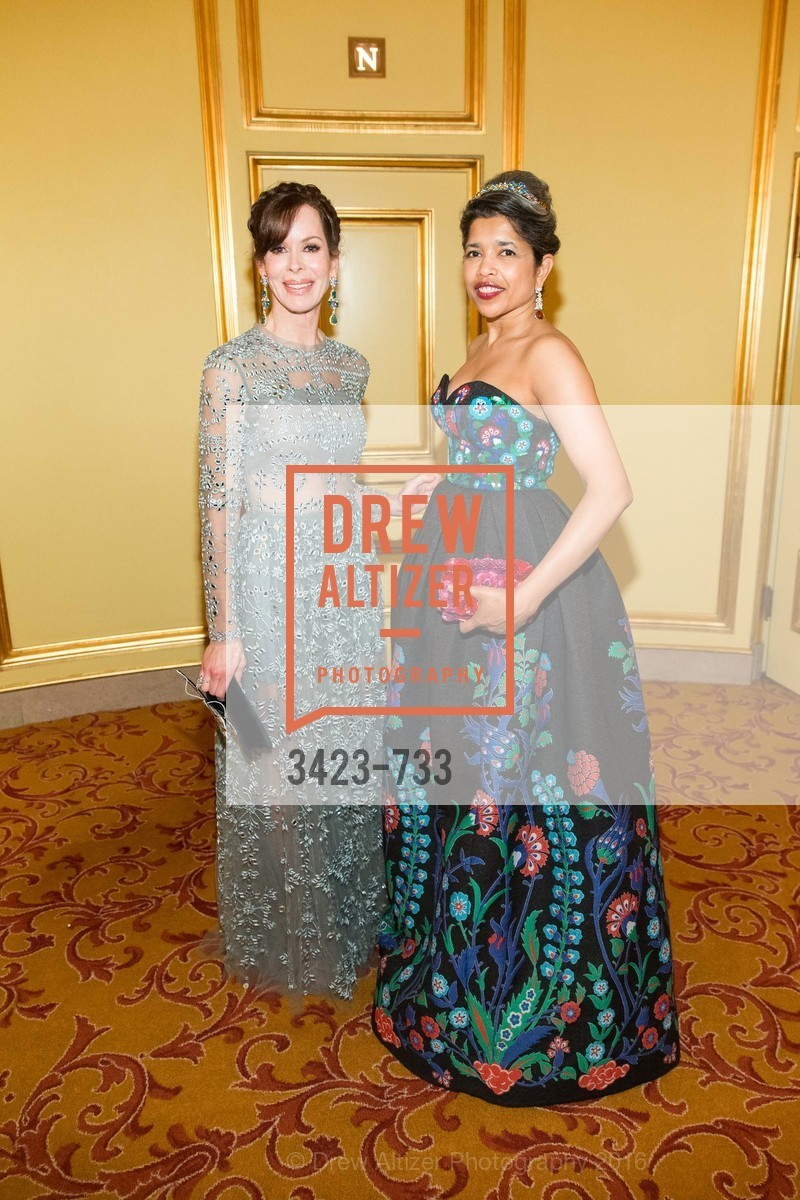 Stephanie Marver, Deepa Pakianathan, San Francisco Ballet 2016 Opening Night Gala, San Francisco City Hall. 1 Dr Carlton B Goodlett Pl, January 21st, 2016,Drew Altizer, Drew Altizer Photography, full-service agency, private events, San Francisco photographer, photographer california