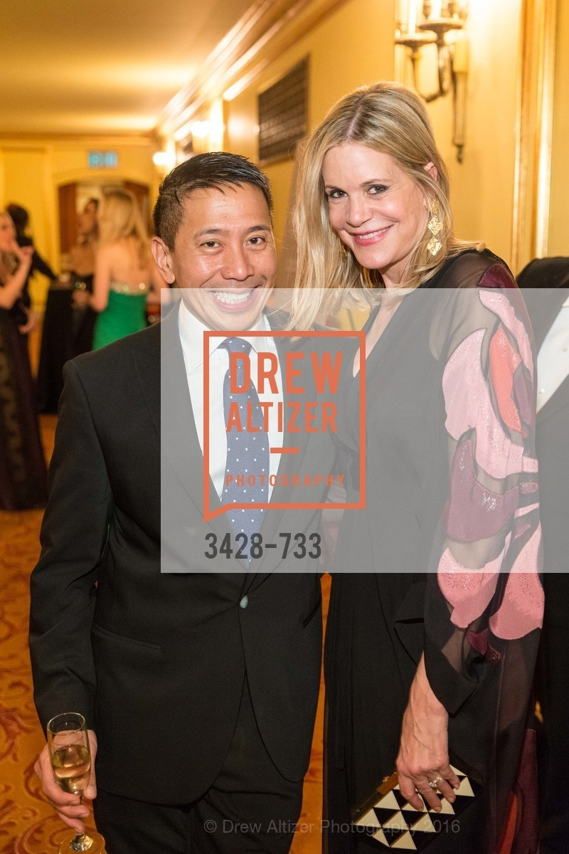 Fermin Nasol, Mary Beth Shimmon, San Francisco Ballet 2016 Opening Night Gala, San Francisco City Hall. 1 Dr Carlton B Goodlett Pl, January 21st, 2016,Drew Altizer, Drew Altizer Photography, full-service event agency, private events, San Francisco photographer, photographer California