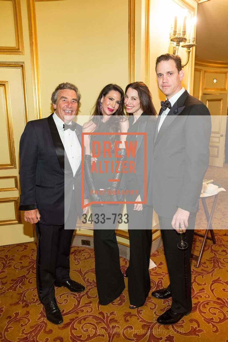 Nicole Curran, Shannon Bavarro, Robert Mailer Anderson, San Francisco Ballet 2016 Opening Night Gala, San Francisco City Hall. 1 Dr Carlton B Goodlett Pl, January 21st, 2016,Drew Altizer, Drew Altizer Photography, full-service agency, private events, San Francisco photographer, photographer california