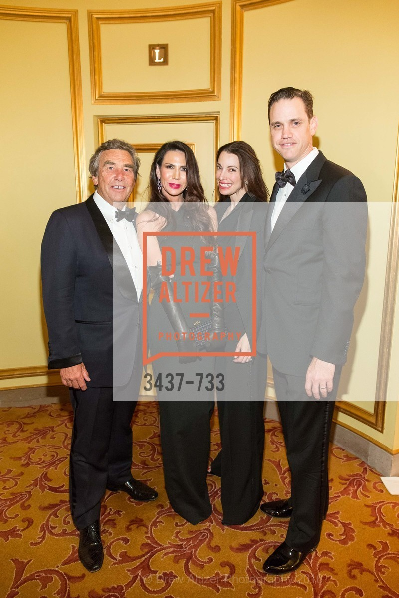 Nicole Curran, Shannon Bavarro, Robert Mailer Anderson, San Francisco Ballet 2016 Opening Night Gala, San Francisco City Hall. 1 Dr Carlton B Goodlett Pl, January 21st, 2016,Drew Altizer, Drew Altizer Photography, full-service event agency, private events, San Francisco photographer, photographer California
