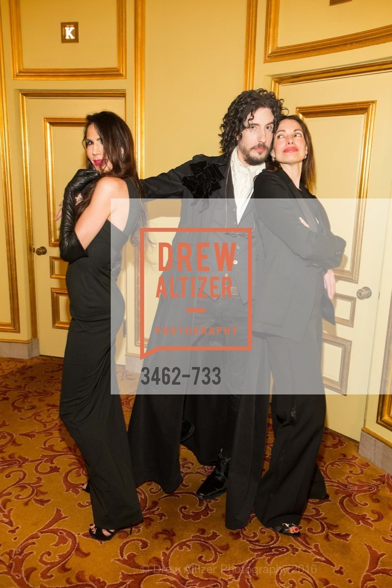 Nicole Curran, Jacques Pantazes, Shannon Bavarro, San Francisco Ballet 2016 Opening Night Gala, San Francisco City Hall. 1 Dr Carlton B Goodlett Pl, January 21st, 2016,Drew Altizer, Drew Altizer Photography, full-service agency, private events, San Francisco photographer, photographer california